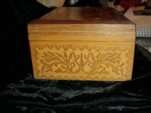 Box, Mexican inlaid
