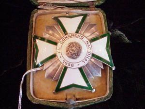 Staff Badge, Dominican Republic