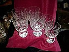 Waterford wine glasses (6) 1940