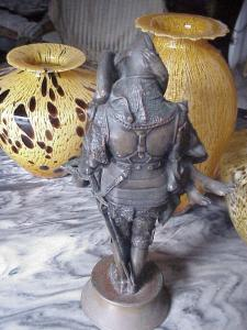 French Bronze Sculpture - Clemencin Signed Listed