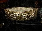 Dutch brass centerpiece / planter - ca 1880