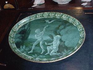 Papier mache tray 160yrs French