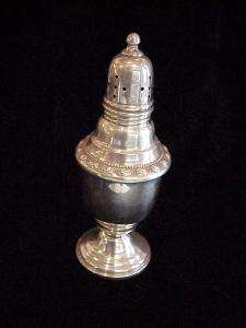 Silver Salt and Pepper, Pair