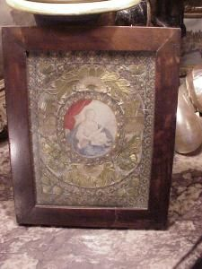 Madonna, 18th century painting (Italian)