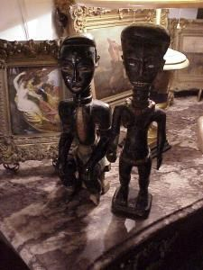Ashanti figures (pair)