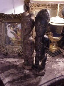 Baule figures, antique (2)