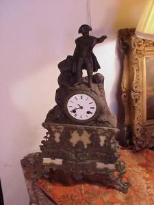 Napoleon Clock French ca 1810