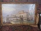 English Oil Painting   Lyon 1855 Hardwick Listed