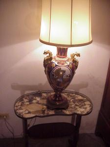Italian Deruta Ceramic Lamp/Vase-100yrs