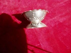 19thc European Silver Salt