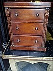 American Victorian Chest  Salesman Sample 19thc