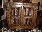 English Charles II Oak Cupboard--1650