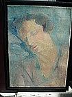 German Portrait of Woman ca 1920s