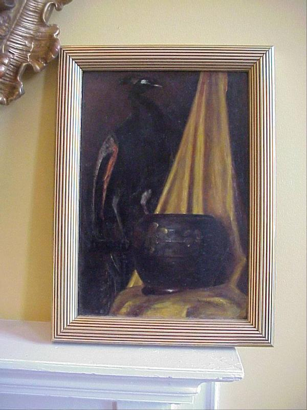 American   Oil - signed  WG Smith-1920s
