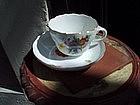 18thc German Meissen Cup & Saucer Porcelain