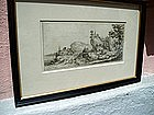 17thc French Engraving by Callot  Return fm Hunt