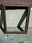 Carved Wood Gilt Frame ca 1920s