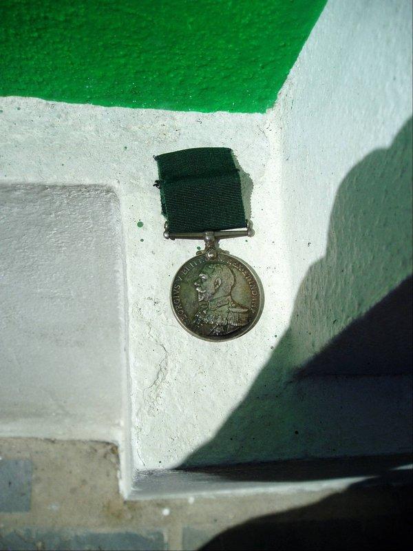 English WWI  Minted Silver Decoration/Medal Geo Vth