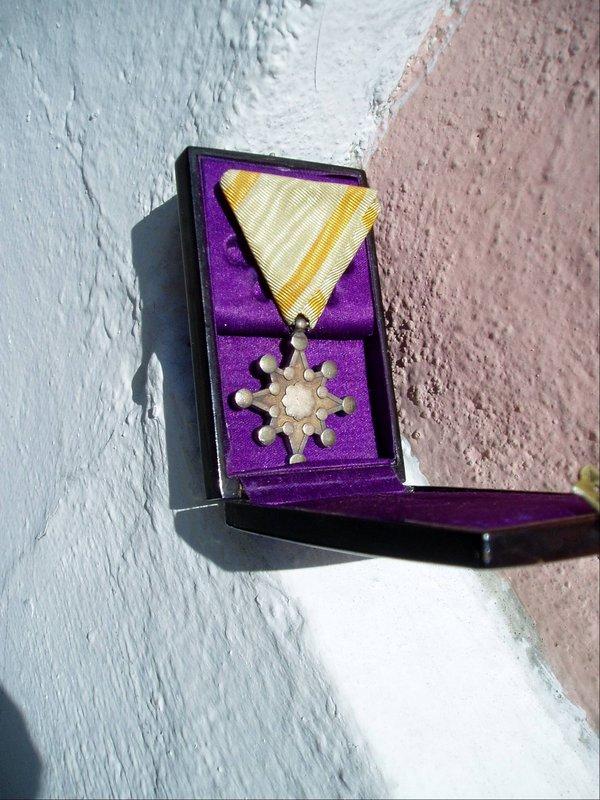 Japanese Silver Medal Order of Sacred Treasure 1930s