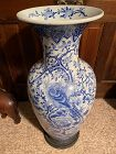 Antique Chinese Palace vase 36 inches, 92 centimeters