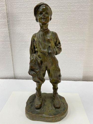 Antique French bronze Artist JOSE CARDONA signed and Foundry marks.
