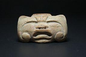 Olmec Antler Maskette