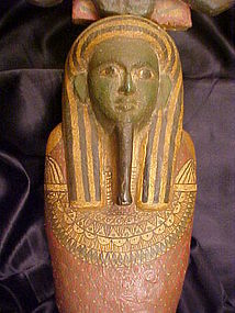 Ex Fine Egyptian Ptah-Sokar-Osiris 664-525BC w/video