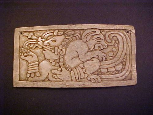 Masterpiece Mayan Bone Carving w/video