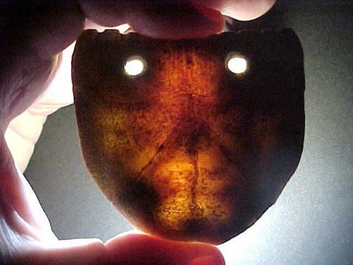 Ex. Rare Turtle Shell Maskette 1000AD