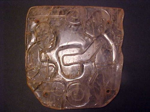 Olmec Museum Quality Masterpiece Quartz Plaque Unique COA