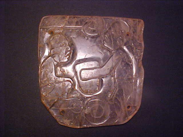 Olmec Museum Quality Masterpiece Quartz Plaque Unique COA w/vid