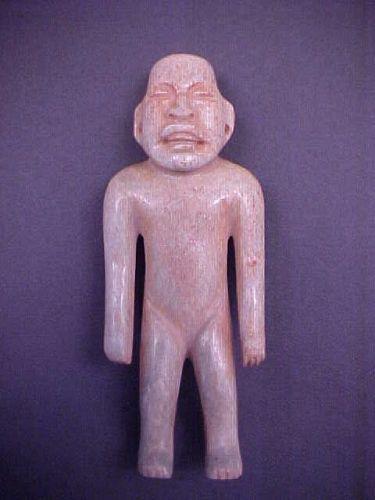 Olmec Jade Standing Figure w/vid