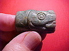 Pre-Columbian Jade Serpent with video