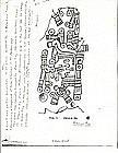 Mixtec Bone Carving of god Xochipilli Ex. Dr. Heflin