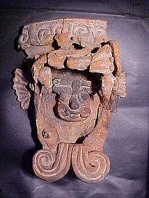 Ceramic Quetzalcoatl Xico, Mexico Ex. Heflin  C1300AD