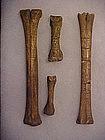 Tiahuanaco Carved Bone Frame C300AD-1000AD