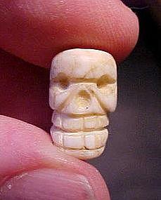 Aztec Shell Skull Cuautitlan, Mexico C1200AD Ex.Heflin