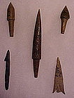 Bone Points from Columbia River, Oregon, Pictured