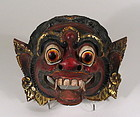 Well Carved Antique Barong Mask from Bali, Indonesia
