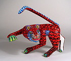 Oaxacan Folk Art Alebrije Leopard by the Hernandez Family