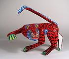 Oaxacan Folk Art Alebrije Leopard by the Hernandez Family