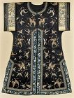 Fine Antique Chinese Embroidered Silk Robe, 19th C.