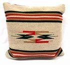 Southwestern Hand Woven Wool Pillow