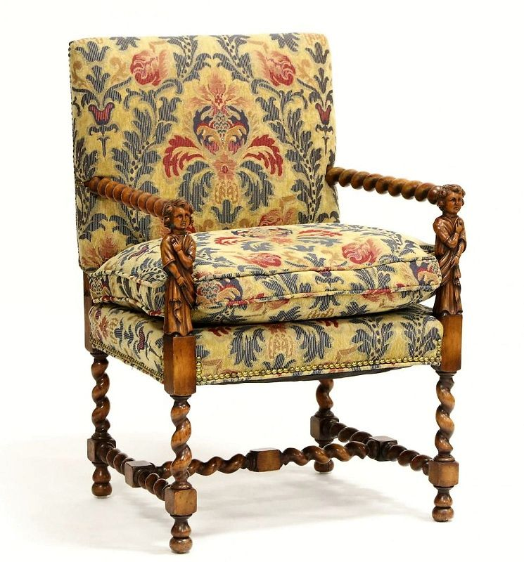 Antique William and Mary Arm Chair