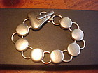 GEORG JENSEN STERLING BRACELET NO. 463 DESIGNED BY REGITZE OVERGAARD