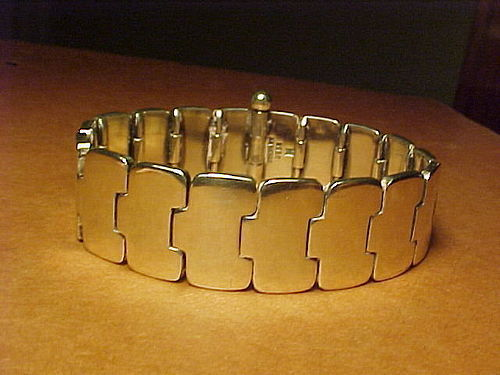 EARLY HANS HANSEN DENMARK STERLING BRACELET