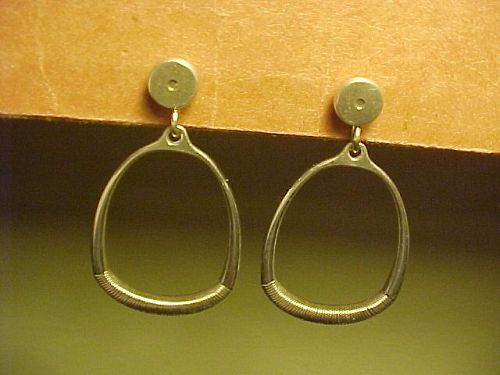 VINTAGE GEORG JENSEN EARRINGS NO. 124