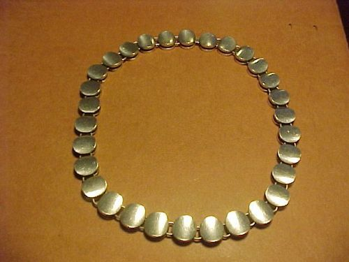 RARE GEORG JENSEN NANNA AND JORGEN DITZEL NECKLACE NO. 124