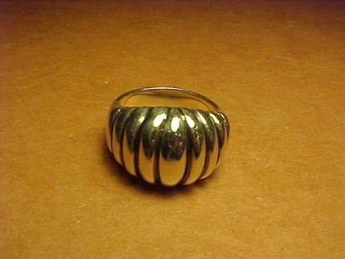 KALO CHICAGO ARTS & CRAFTS WORKSHOP STERLING RING