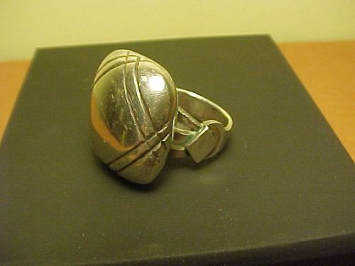 WILLIAM SPRATLING FIRST PERIOD DESIGN 980 SILVER PILLOW RING